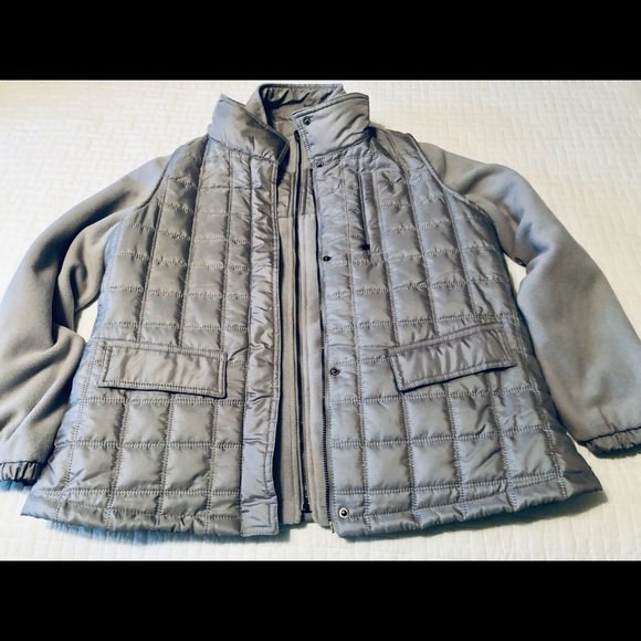 Norm Thompson Jackets & Blazers - Fleece Reversible Jacket with Vest Size M